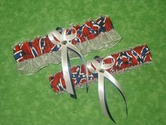 Confederate Flag themed garter belts???