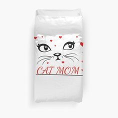 Duvet cover Luxury cat design - Bed and Bedcover Framed Prints, Canvas Prints, Cat Quotes, Buy A Cat, Cat Design, Cat Gifts, Bed Covers, Glossier Stickers, Cool Cats