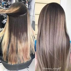 28 Top Blonde Ombre Hair Color Ideas for 2019 - Style My Hairs Brown Hair Shades, Light Brown Hair, Brown Hair Colors, Dark Hair, Cheveux Beiges, Hair Color And Cut, Hair Colour, Pinterest Hair, Hair Pictures