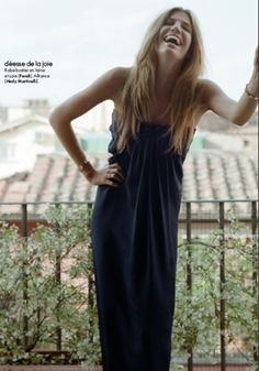 Alexia Silvagni - Photos - ELLE - Vacances Romaines | Michele Filomeno
