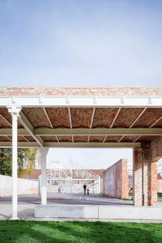 Vandriessche Architecten · Conversion of old factory De Porre to city park, Ghent