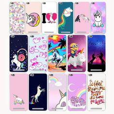 645G Lovely Cute Unicorn Hard Transparent Case for Redmi 3 3s Pro Note 2 3 Pro 2 2A & Meizu M3 Note M2 note Mini case