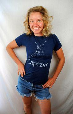 Vintage CAPEZIO T-Shirt 4T08AO8vQ