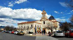 La basílica del LLedó en la última mañana de fiestas de la Madalena ;)