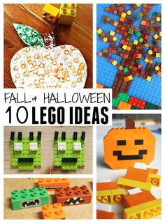 Fall LEGO Activities and Halloween Ideas for Kids. Great Fall STEAM!