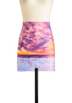 Scoop of Sunset Skirt, #ModCloth