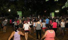 San Isidro: Gran convocatoria en el paseo de bicicletas nocturno
