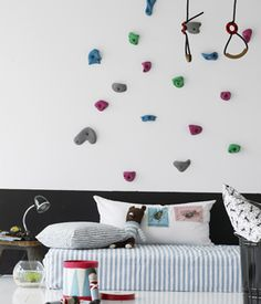 Easy Bedroom climbing wall