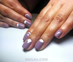 Simple Nail Art Designs / Girly And Handy Nails Simple Nail Art Designs, Best Nail Art Designs, Easy Nail Art, Cool Nail Art, Finger Nail Art, French Tip Nails, Nail Tutorials, Stiletto Nails, Simple Nails