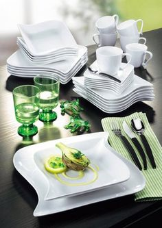 modern dishes