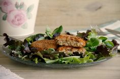 Hamburguesas de arroz integral - MisThermorecetas Carne, Chicken, Ideas Para, Recipes, Salads, Veggie Burgers, Roasted Almonds, Garlic, Entrees