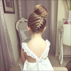 Hair Updos for Weddings Awesome Wedding Hairstyles with Headband Best Bridal Hair Styles Natural Bun Hairstyles, Flower Girl Hairstyles, Little Girl Hairstyles, Hairstyles For School, Headband Hairstyles, Up Hairstyles, Braided Hairstyles, Wedding Hairstyles, Natural Hair Styles