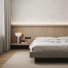Home Bedroom, Modern Bedroom, Minimal Bedroom Design, Estilo Muji, Headboards For Beds, Bedroom Styles, Interior Design Living Room, Interior Architecture, House Design