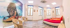 hostel-uri bucuresti 2015 Bucharest, Hostel, Bean Bag Chair, Sky, Furniture, Home Decor, Pura Vida, Heaven, Decoration Home