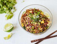 Buckwheat Noodle Pad Thai. yumm universe