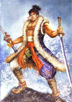 Miyamoto Musashi- Samurai Warriors 2