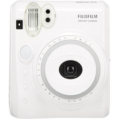 New Model Fuji Instax Mini 50s Piano White Fujifilm Instant Camera (€57) ❤ liked on Polyvore featuring fillers, camera, accessories, electronics and extras