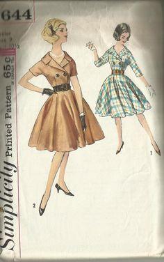 Simplicity sewing pattern 4644 circle skirt day by maryalicemonda, $8.50