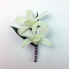 Dendrobium Boutonniere Prom flowers Corsage Prom Ideas Prom jewelry Prom Bout