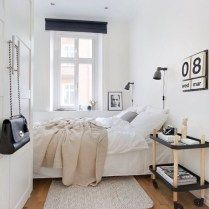 Bedroom White Small Bedroom Ideas Improving House Aesthetic With
