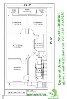 Architecture House Plans house plan for 20 feet40 feet plot (plot size 89 square yards