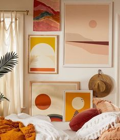 Reasons why Yellow should be a frequently used home deco color - Daily Dream Decor del hogar Home Design, Interior Design, Salon Design, Interior Office, Design Design, Urban Outfitters Home, Urban Outfitters Apartment, Empty Wall, Home And Deco