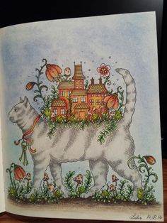Hanna Karlzon, Dagdrommar, color with me, Julie's passion for coloring