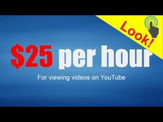 Earn 25 USD. Per hour for watching videos! #THW Global Presentation