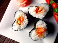 #sushi #sanvalentin