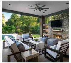 Backyard Layout, Backyard Patio Designs, Modern Backyard, Pergola Patio, Patio Ideas, Backyard Ideas, Costco Pergola, Patio Awnings, Gazebo Ideas