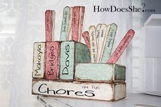 LOVE THIS!!!!    Chore Chart for Multiple Kids