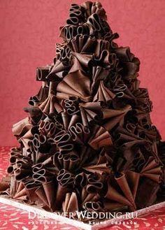 Свадебные шоколадные торты ростов