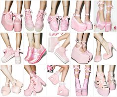 Pink Shoes From Dollskill