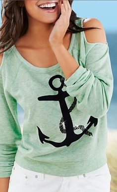 Anchor Mint Green Top http://www.studentrate.com/fashion/fashion.aspx