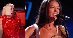 Amy Vachal started to play and sing the classic song 'Dream A Little Dream Of Me' and the judges HAD to turn around. Her voice had me feeling like I was soaring, and I could listen to her all day! Wow, who else loved this classic?