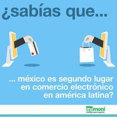 ¿Sabías que México obtuvo en el 2014 ventas por más de 9,200 millones de dólares en comercio electrónico?