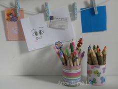 Artes da Pró Lú: Blogagem coletiva: esmalte e desenho.