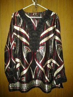 lane bryant,,,dress for her v pretty top v soft like silk size 18-20 free ship 4 $ 24.99