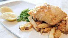 decadent...!!!fish and chips cooked in duck fat....oh ahhh