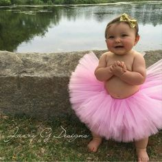 Our adorable brand rep in our pink tutu!!