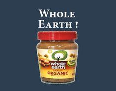 Need a snack? --- Hai bisogno di uno snack?  #wholeearth #spread #spalmato #snack #ciboinglese  -->http://www.richmonds.it/item/whole-earth-organic-crunchy-peanut-butter-227g.html