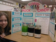 Sweet Science Fair Project: Growing Rock Candy