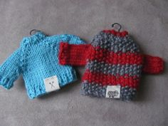 New! Tiny labels for our Tiny Sweater Knit along.