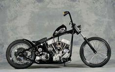 Panhead Bobber by Motorcycle Den of Japan Harley Bobber, Bobber Motorcycle, Cool Motorcycles, Vintage Motorcycles, Custom Bobber, Custom Choppers, Custom Bikes, Indian Larry, Motos Vintage