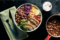 Should you soak beans? Should you salt them before cooking? Get the answers to these and more bean myths, plus the best way to cook dried beans here. How To Cook Corn, How To Cook Beans, How To Cook Fish, How To Cook Shrimp, How To Cook Steak, Cookbook Recipes, Cooking Recipes, Cooking Corn, Cooking Fish