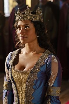 Guinevere - played by Angel Coulby in 'Merlin'