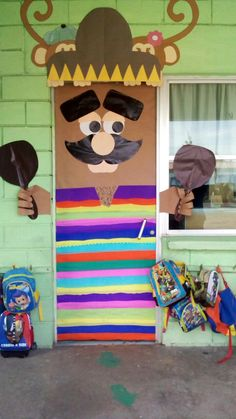 M s de 1000 ideas sobre periodico mural de septiembre en for Puertas decoradas 16 de septiembre
