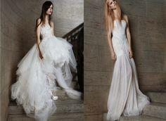 ABITI DA SPOSA 2015: VERA WANG E LA COLLEZIONE PRIMAVERA DALLE LINEE SEMPLICI ED ELEGANTI By www.SomethingTiffanyBlue.com #verawang #dress #bride #wedding