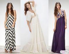 Des robes longue
