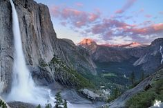 Yosemite, CA - I want to to see this in person.